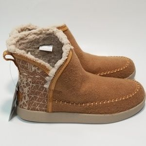 Sanuk Women's Shoes Bootah Ojai Ankle Boot NWT